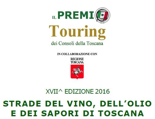 Il Premio Touring Club Italiano 2016 alle Strade di Toscana