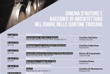"""""""IN WINE THE TRUTH"""": CINEMA D'AUTORE, RACCONTI DI ARCHITETTURA E VINO"""