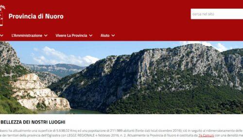 Landing Page 'LA RETE TERRAGIR3'